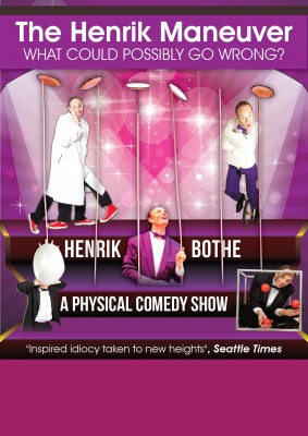 Henrik Maneuver comedy juggling magic